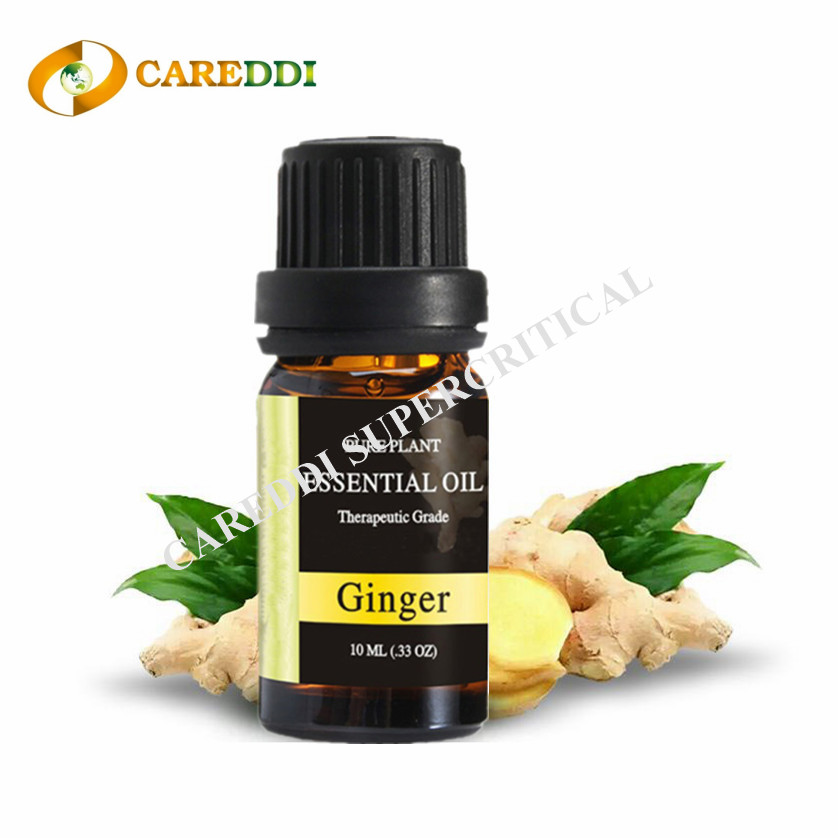 Massage Ginger Essential Oil Supercritical CO2 Extraction Ginger Oil