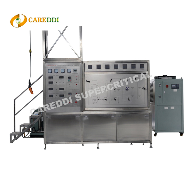 48L(24Lx2) Medium Size Supercritical Co2 Extraction Machine